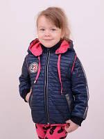 Детская весенняя курточка-жилет для девочек от 3 до 6 лет, разные цвета