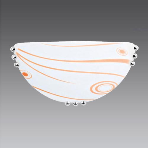 1951-7 Светильник со стеклом бра PAI OKTAY оранжевый