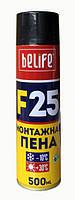 Профессиональная универсальная монтажная пена BeLife EcoFoam F25