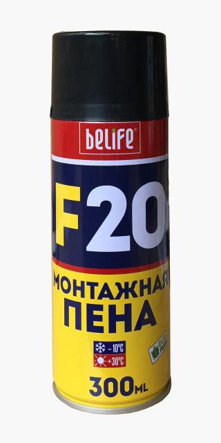 Всесезонная универсальная профессиональная монтажная пена BeLife EcoFoam F20