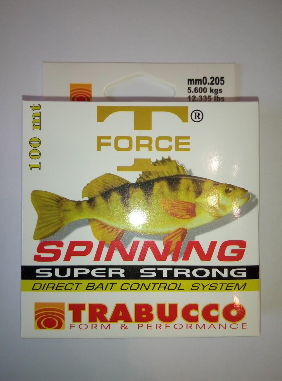 Леска TRABUCCO 100m  (0.205mm  5.6kg)