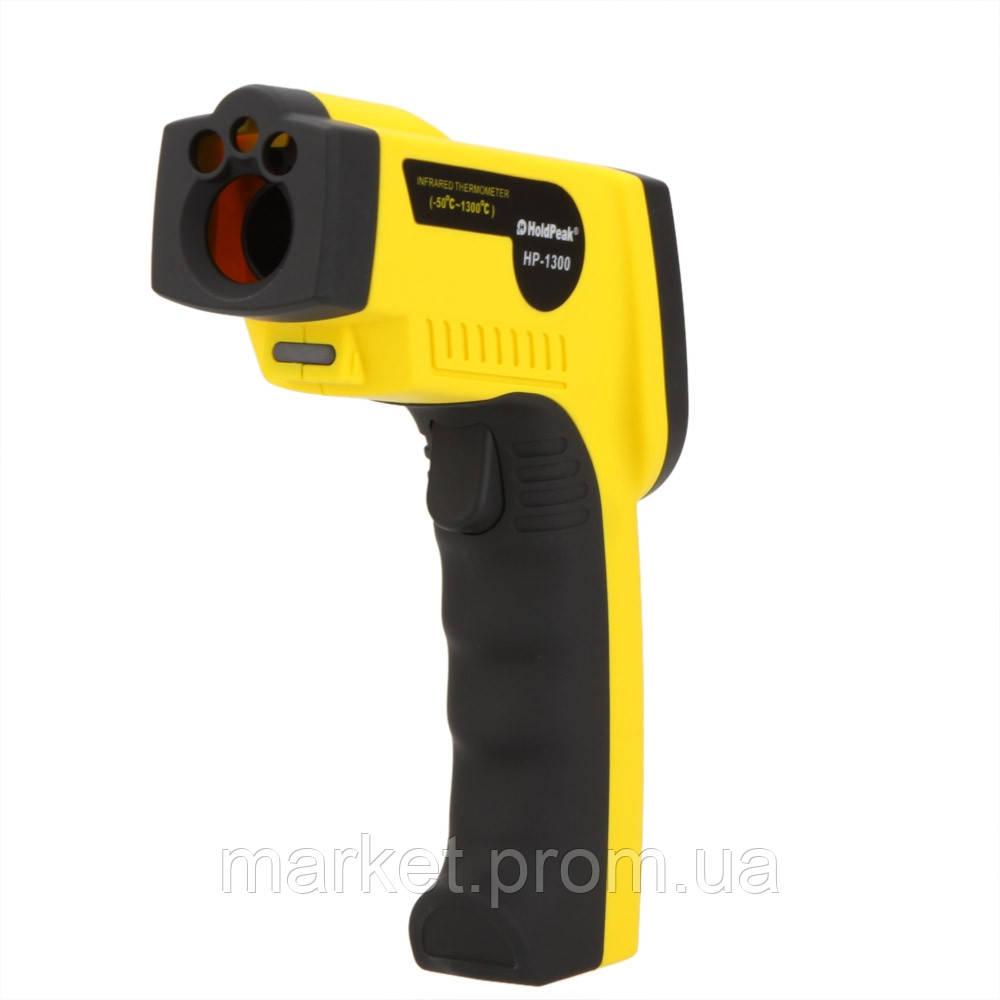 Пирометр инфракрасный с лазерным указателем Holdpeak HP-1300 (-50 -1300 С) 16:1