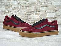 Кеды Vans Old Skool Red(ТОП РЕПЛИКА ААА+)