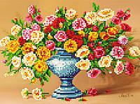 """Схема для вышивки бисером """"Букет цветов"""", А4"""