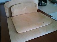 Спинка, Сиденье для школьного стула (комплект)