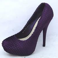Эффектные модельные туфли.