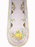Вышитая Пасхальная  салфеточка дорожка 40-180 см