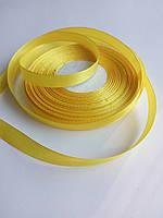 Лента атласная желтая 0.9 см