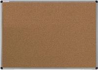 Доска пробковая для объявлений 90х120 см