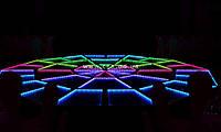 Десятигранный светодиодный пол, аренда