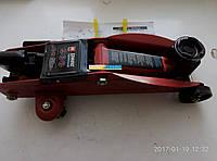 Домкрат подкатной 2т H=130/330 7,5кг  FJ-02, фото 1
