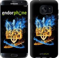 "Чехол на Samsung Galaxy S7 Edge G935F Герб ""1635c-257"""
