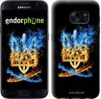 "Чехол на Samsung Galaxy S7 G930F Герб ""1635c-106"""