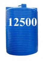 Емкость вертикальная круглая 12500 литров(с двойной стенкой)