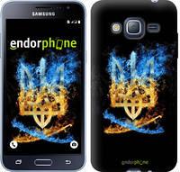 "Чехол на Samsung Galaxy J3 Duos (2016) J320H Герб ""1635c-265"""