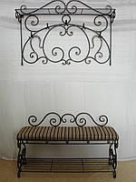 Кованый набор мебели в прихожую - 02, фото 1