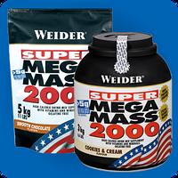 Гейнер Mеga Mass 2000 5 кг Weider