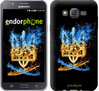 "Чехол на Samsung Galaxy J7 J700H Герб ""1635c-101"""