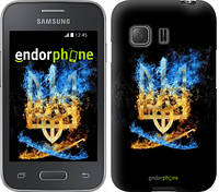 "Чехол на Samsung Galaxy Young 2 G130h Герб ""1635u-206"""