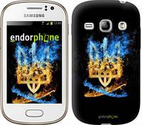"Чехол на Samsung Galaxy Fame S6810 Герб ""1635u-254"""