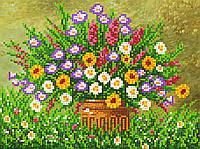 """Схема для вышивки бисером """"Полевые цветы"""", А4"""