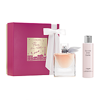 Оригінальний набір Lancôme La Vie Est Belle - парфуми 50 мл + парфумований крем 200 мл