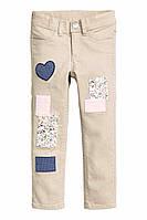 Штаны, джинсы для девочки H&M на 6-7 лет.
