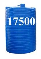 Емкость вертикальная круглая 17500 литров(с двойной стенкой)