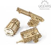 """Механический 3D-пазл UGEARS - Набор дополнений к модели """"Грузовик UGM-11"""""""