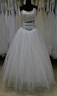 """Свадебное фатиновое платье """"Е-01"""" (эконом-вариант) РАСПРОДАЖА"""