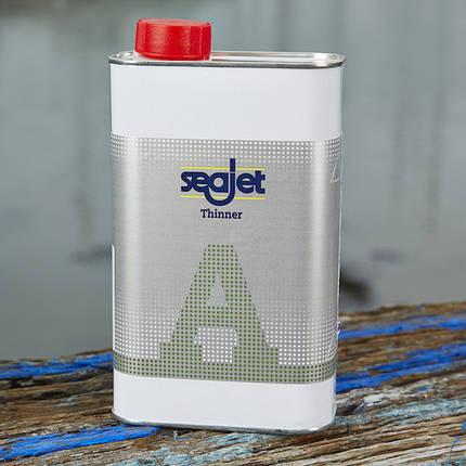 Универсальный разбавитель для антиобростайки и грунтовки для лодки Seajet 011 1 литр Thinner A, фото 2