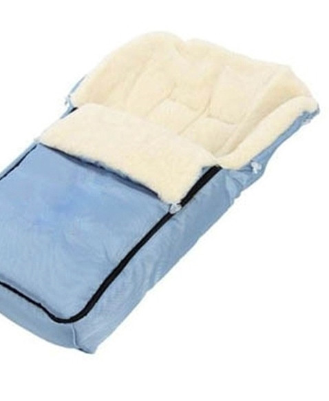 Зимний конверт на овчине Womar 6 голубой