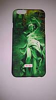 """Задняя накладка De Luxo для Apple iPhone 6/6S (4.7) (зелёная """"Статуя девушки"""")"""