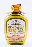 "Масло для ванн Мандарин Корица,  "" Зелёная аптека "" 250 мл"