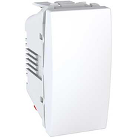 Выключатель SCHNEIDER Unica MGU3.105.18 1кл., (сх.7) 1м.,переключатель перекрестный, белый