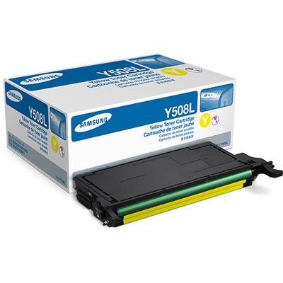 Заправка картриджа CLT-Y508L для принтера SAMSUNG CLP-620/ 670 SERIES YELLOW
