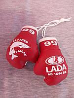 Сувенирные перчатки боксерские для авто сувенир брелок  Под заказ на подарок другу,брату, мужу, рыбаку