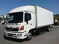 Лобовое стекло на грузовик Toyota Hino, триплекс