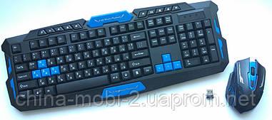 Ігрова бездротова клавіатура для ПК + миша - НК8100