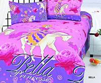 Комплект постельного белья  le vele сатин размер полуторный  Bella