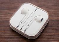 Белые наушники гарнитура для Iphone Ipad