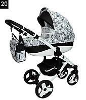 Универсальная детская коляска 2в1 Deluxe