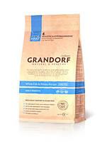 Grandorf White fish & Potato ADULT SENSITIVE - белая рыба для взрослых кошек  0,4 кг