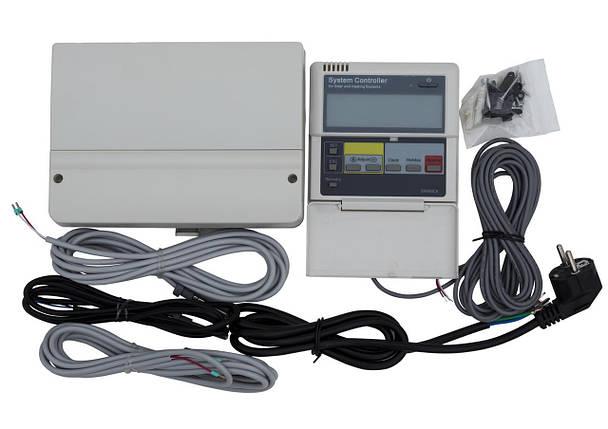 Контроллер для солнечных систем SR868C8Q для одноконтурной системы с функцией измерения выработанного тепла, фото 2