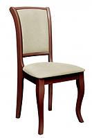 Стул Джил (ТК мисти беж) (каштан), стул с мягкой спинкой и мягким сиденьем