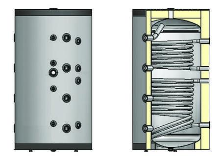 Буферная емкость ELDOM 72289BCS2 500 л, фото 2
