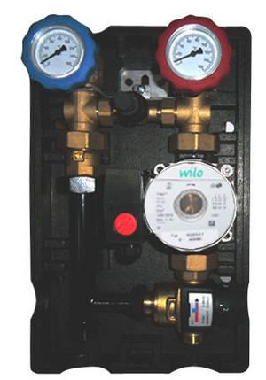 Насосная группа NOVAGRMF для систем отопления, 2-х линейная, фото 2