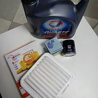 Комплект фильтров + масло моторное полусинтетическое 10W-40 4L Geely MK/MK2/MK Cross