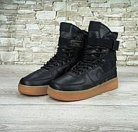 Кроссовки Nike Special Field SF Air Force 1 Black мужские 44