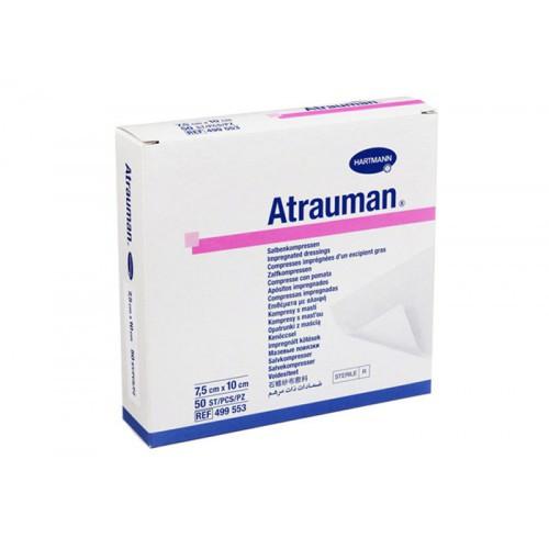 Hartmann Atrauman мазевая повязка, атравматическая, стерильная, 7,5 х 10 см - Medort - Ортопедическая продукция, товары для здоровья в Киеве